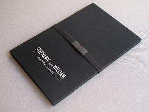 Álbums acordeón para regalar fotografías de boda a los familiares.