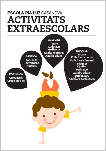 FOLLETO Extraescolars